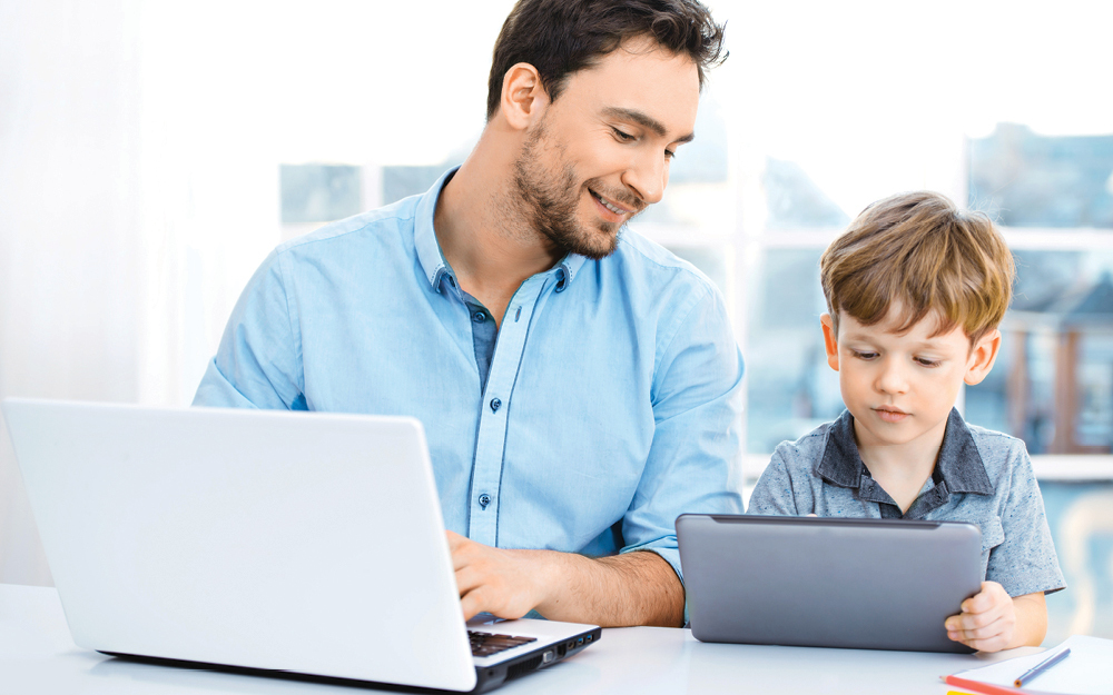 Ai working parents good employees