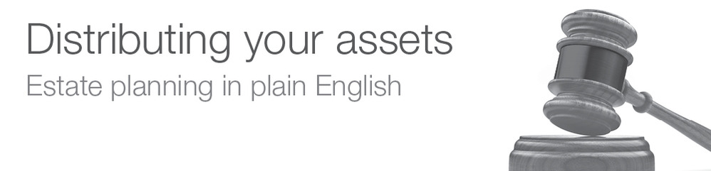 Education Fact Sheet: Distributing your assets