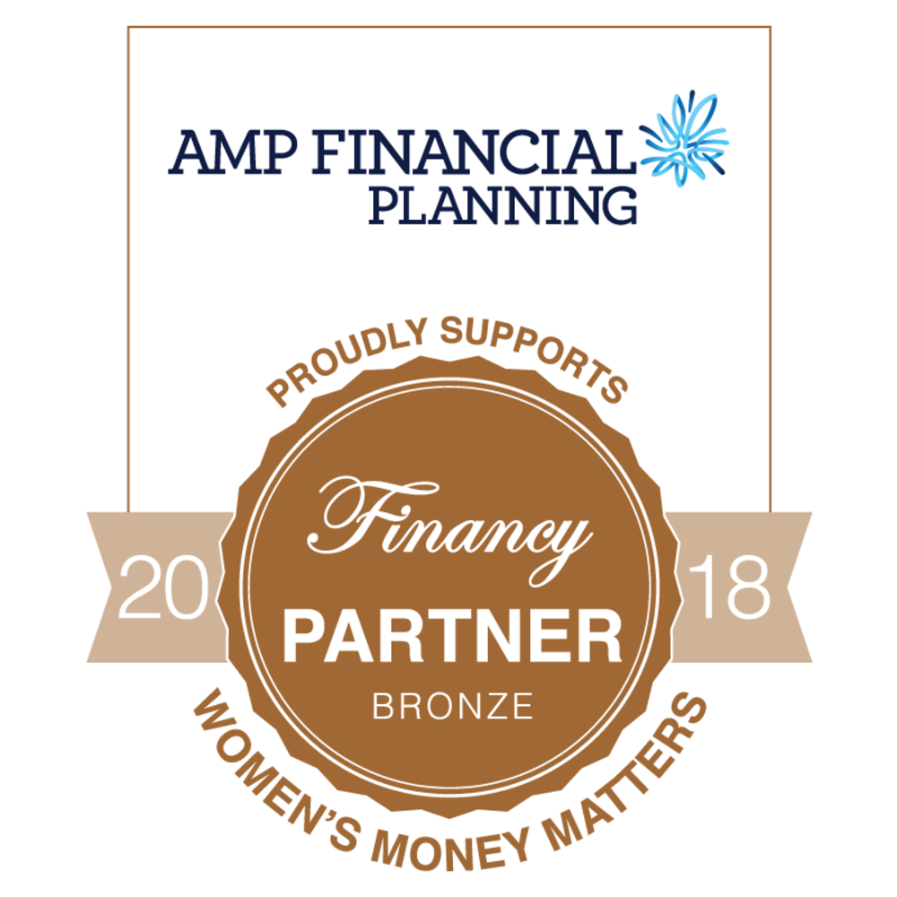 AMP Financial Planning proudly supports Financy BRONZE PARTNER 2018