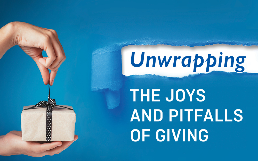 Unwrapping the joys and pitfalls of giving