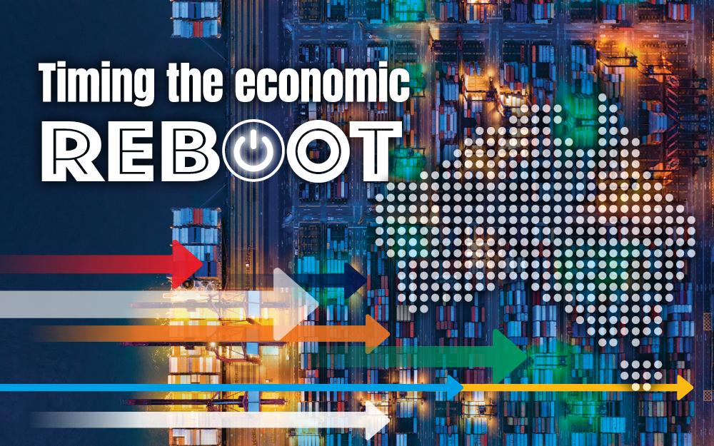 Timing the economic reboot