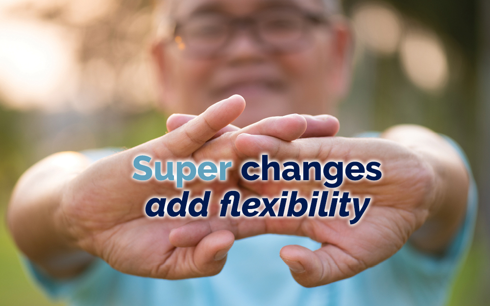 Super changes add flexibility