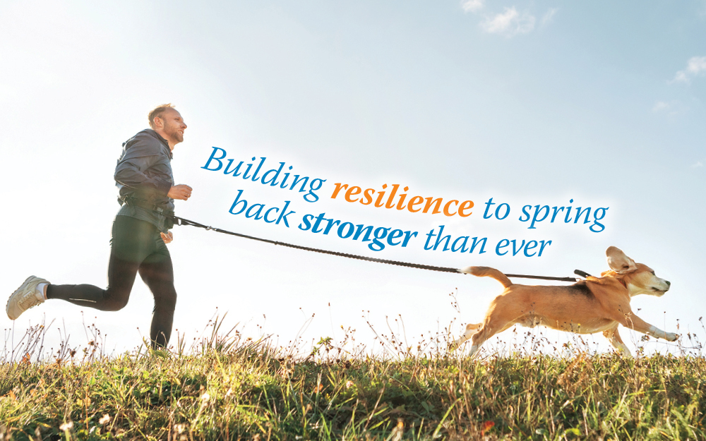 Building resilience to spring back stronger than ever