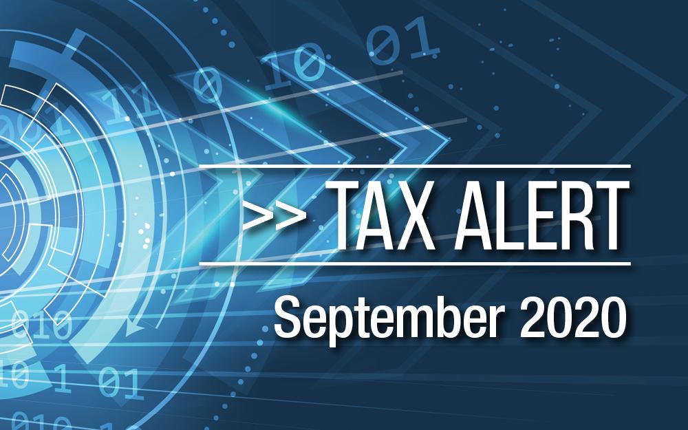 Tax Alert September 2020