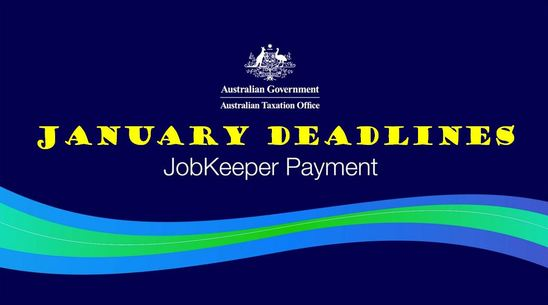 JobKeeper January Deadlines