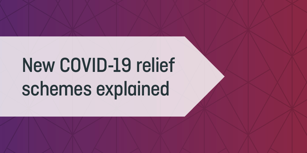 New COVID-19 relief schemes explained